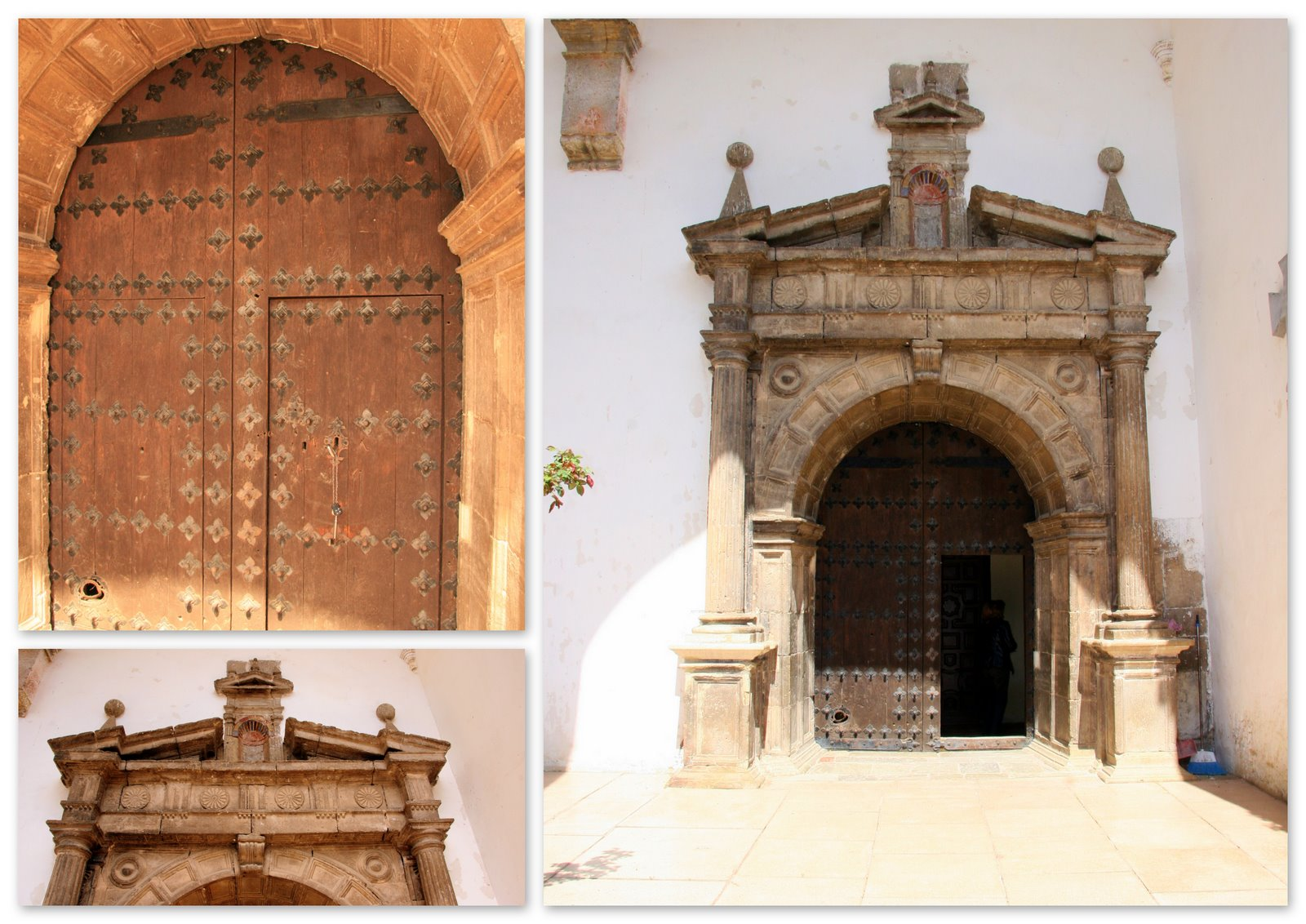Iglesia de la asunci n de nuestra se ora monterde de for Puerta 19 benito villamarin